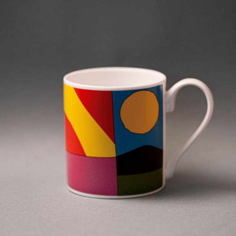 Mug porcelaine artiste William LaChance