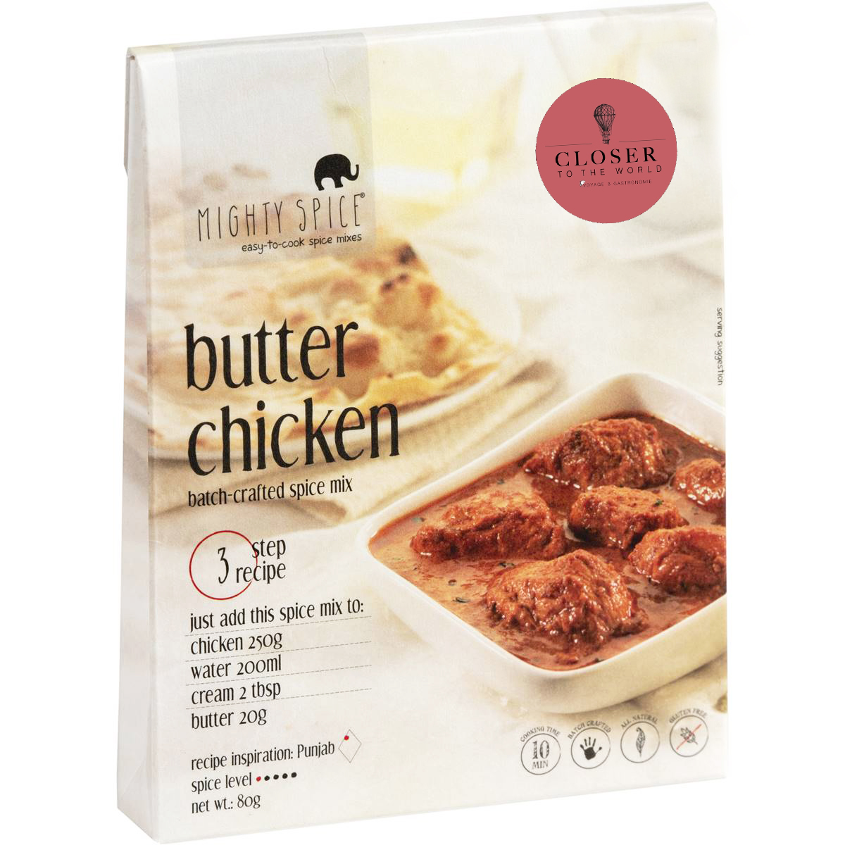 kit épice butter chicken closer to the world