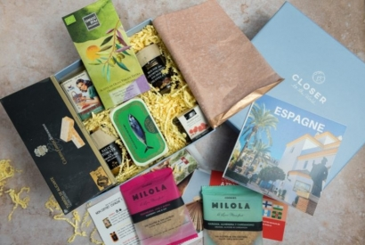 CLOSER TO THE WORLD - COFFRET GOURMAND ESPAGNE - Box gastronomique -